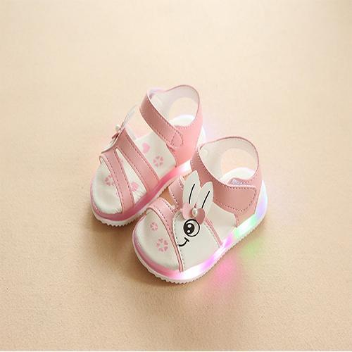 Giá bán Dép có quai cho bé gái - giày snadal bé gái - giày phát sáng cho bé - dép trẻ em