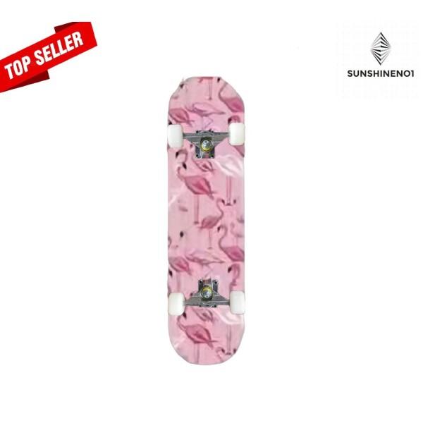 Mua [CHÍNH HÃNG] Ván trượt Skateboard Mặt nhám Simpson TẶNG KÈM Băng Đô Thể Thao - Siêu Bền