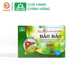 Trà giải độc gan Bảo Bảo - Thanh nhiệt, mát gan, giải độc, giải rượu - Hộp 10 túi - BB1-05 thumbnail