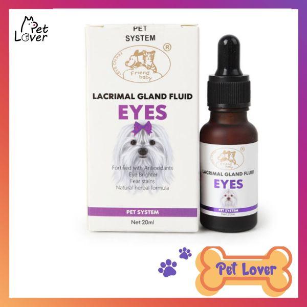 Siro Uống Chống Chảy Nước Mắt Ở Chó Mèo Lacrimal Gland Fluid Eyes 20ml - Petlover