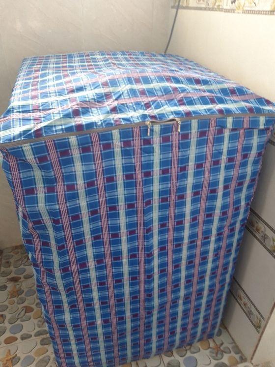 Áo Trùm Máy Giặt Cửa Trên 7 - 8kg Vải Dù Siêu Bền Chống Thấm Cực Tốt