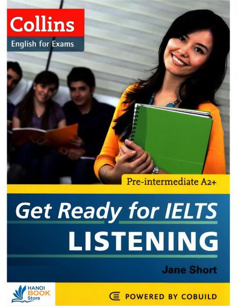 Collins Get Ready for IELTS: Listening - Pre-intermediate A2+ - Hanoi bookstore