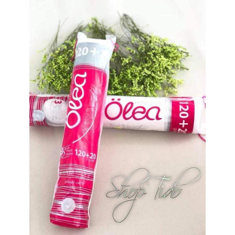Bông tẩy trang Olea 140 miếng