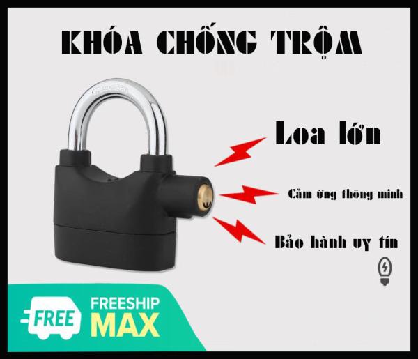 Ổ khóa báo động chống trộm CT02 thông minh – Chống chìa khóa vạn năng, cắt trộm, hú báo động khi có tác động chạm vào khóa