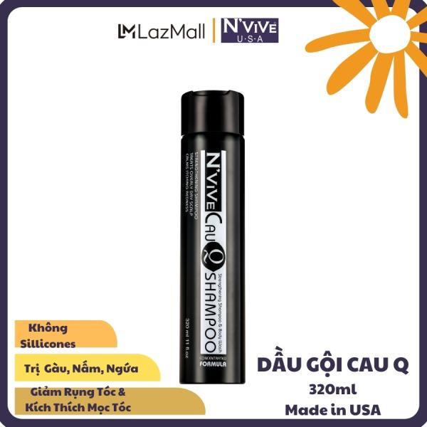 Dầu gội ngăn rụng tóc, dầu gội giảm gàu, giảm ngứa, giúp tóc chắc khỏe NVive CauQ 320ml USA giá rẻ