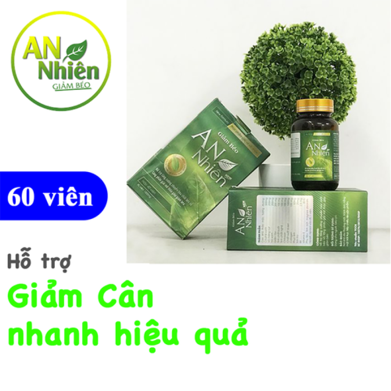 Giảm Cân An Nhiên chính hãng 100 - GCAN3 giá rẻ