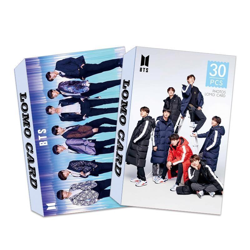 Hộp 30 lomo card BTS 30 tấm mẫu mới 2019