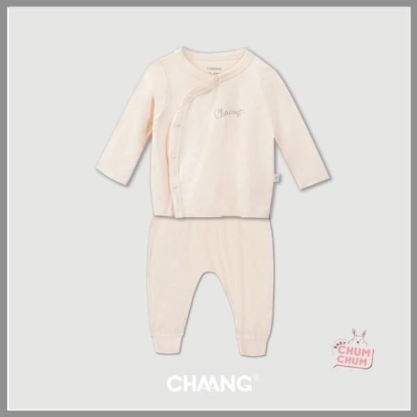 Nơi bán Set Bộ Dài Cotton Cúc Chéo Summer Hồng Phấn 0-6M Chaang Babychumchum