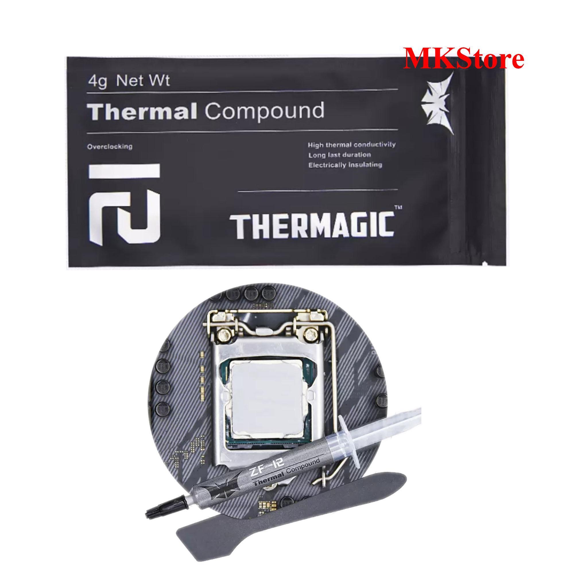 Giá Kem tản nhiệt cho CPU Thermagic Thermal Compound ZF-12 4g Net Wt