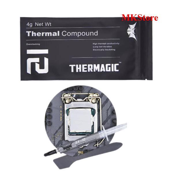 [Nhập ELJAN11 giảm 10%, tối đa 200k, đơn từ 99k]Keo tản nhiệt cho CPU Thermagic Thermal Compound ZF12 4g Net Wt