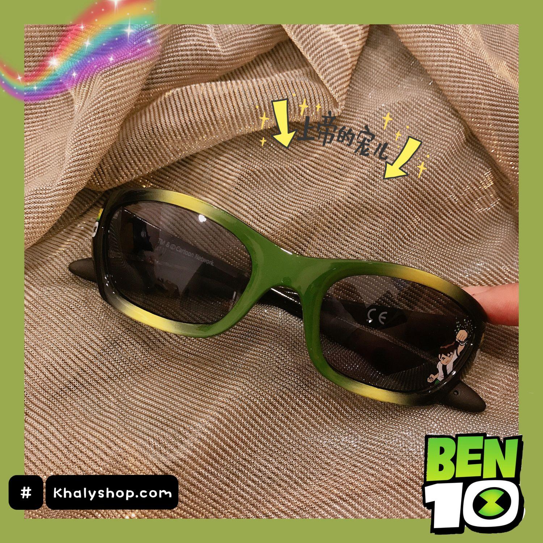 Mua Mắt kính mát cao cấp hình Ben10 màu xanh lá siêu xinh cho trẻ em, bé trai - 37P5NMKBEN