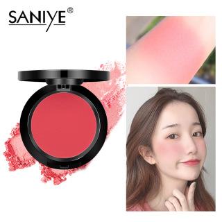 SANIYE phấn má hồng đỏ với gương cho mọi loại da, mỹ phẩm trang điểm xinh xắn dành cho các bạn gái E0119 - INTL thumbnail