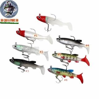Explosive sports outdoor products Mồi Câu Cá Giả Bằng Nhựa Mềm 90mm 14g MG-15 mồi mềm có lưỡi 3 tiêu thumbnail