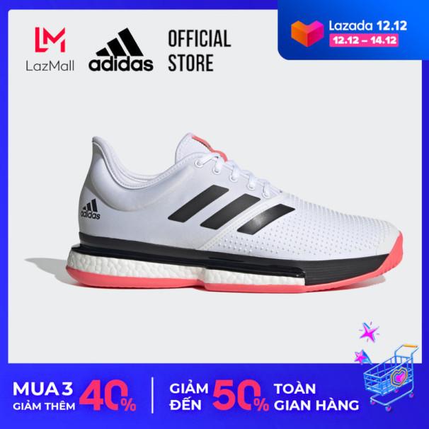 adidas TENNIS Giày SoleCourt Nam Màu trắng FU8114 giá rẻ