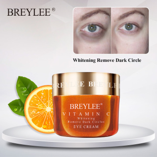 BREYLEE Vitamin C Whitening Eye Cream Reduces Dark Circles Melanin Remove Dark Spots Freckles Eye Care 20g thumbnail