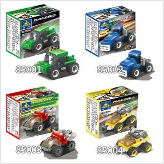 Đồ chơi trẻ em xếp hình LEGO CITY lắp ráp các loại xe ô tô từ 27 đến 32 chi tiết nhựa ABS cao cấp cho bé từ 4 tuổi trở lên phát triển trí tuệ và sáng tạo - Giới hạn 5 sản phẩm khách hàng 3