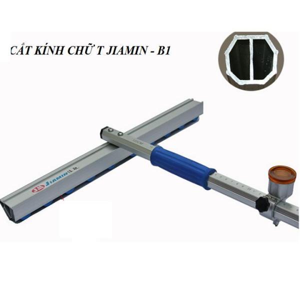 Thước cắt kính chữ T thương hiệu Jiamin dài 1,5m {Tặng Kèm 1 Lưỡi Dao Dự Phòng}; Dao cắt kính chữ T dài 150cm, Thước cắt kiếng chữ T dài 1.5m, Dao cắt kiếng chữ T dài 1.5m