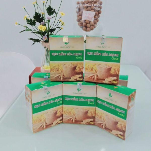3 hộp kẹo mầm lúa mạch gold