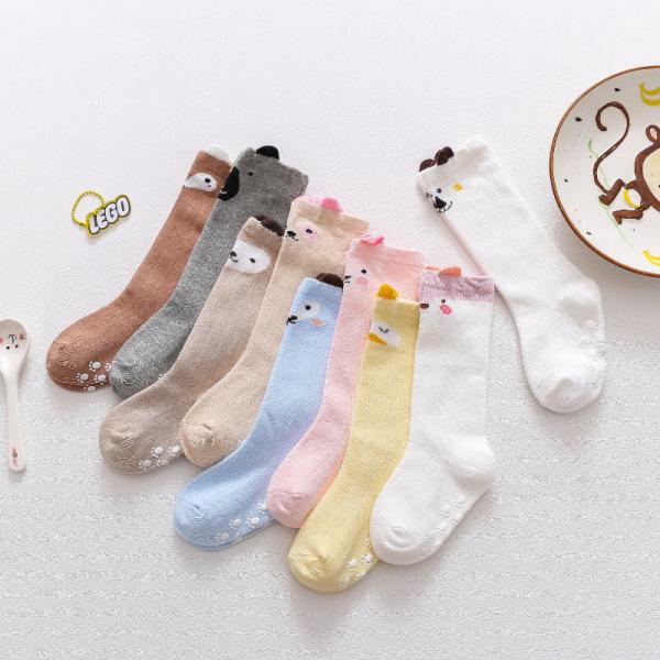 Giá bán Tất, vớ cổ dài thu đông hình thú chống trượt phong cách Hàn Quốc cho bé yêu TTE19