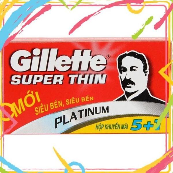 LƯỠI LAM GILLETTE 5+1 [shophoakho] giá rẻ