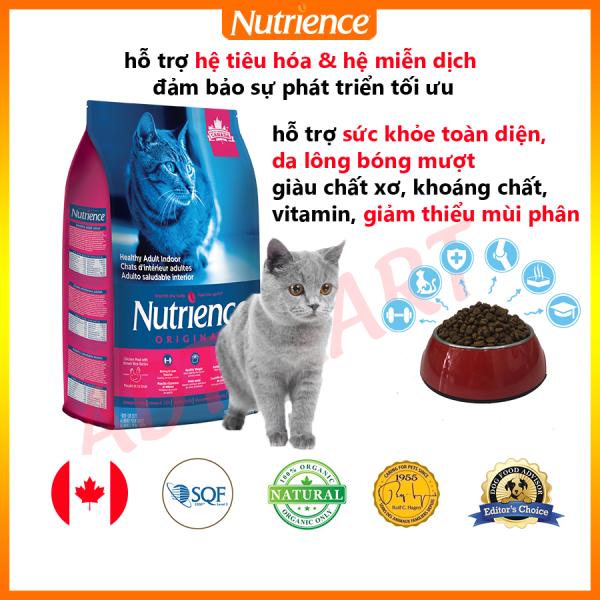 Thức Ăn Cho Mèo Anh Lông Ngắn Nutrience Origianl - Thịt Gà, Rau Củ, Trái Cây Tự Nhiên, Cung Cấp Protein Cao & Axit Amin, Giàu Chất Xơ, Khoàng Chất, Vitamin. Giảm Mùi Phân. Hỗ Trợ Da Lông Bóng Mượt, Hệ Tiêu Hóa, Hệ Miễn Dịch Khỏe Mạnh