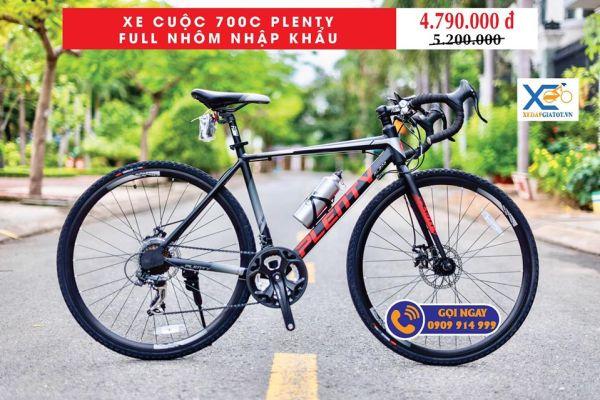 Phân phối XE CUỘC 700 PLANTY PL200 FULL NHÔM SHIMANO Chính Hãng
