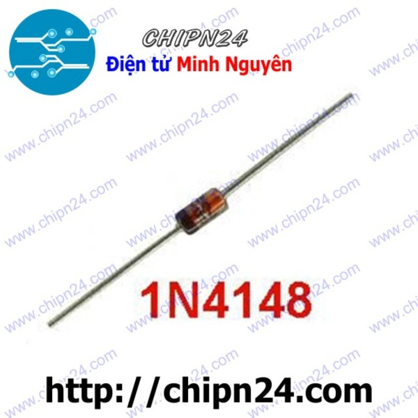 Bảng giá [Nhập ELJAN11 giảm 10%, tối đa 200k, đơn từ 99k][25 CON] Diode xung 1N4148 DIP 450mA 100V