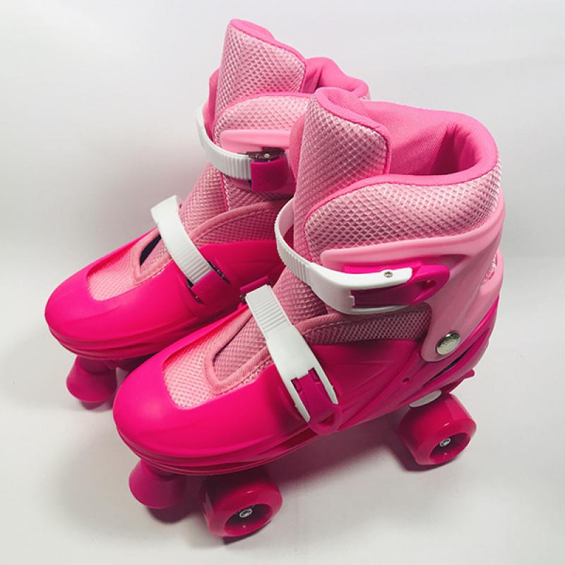 Phân phối Giày Patin 4 bánh ngang hồng
