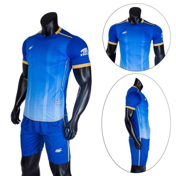 Bộ quầnáo thể thao, Bộ áo bóng đá không logo RiKi Furior sẵn kho, giá tốt chất vải mềm mát mịn, thấm hút mồ hôi.