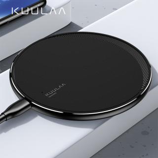 KUULAA 10W Sạc Nhanh Sạc sạc không dây Cộng Với 11 11 Pro Huawei Mate 20 Điện Thoại Android thumbnail