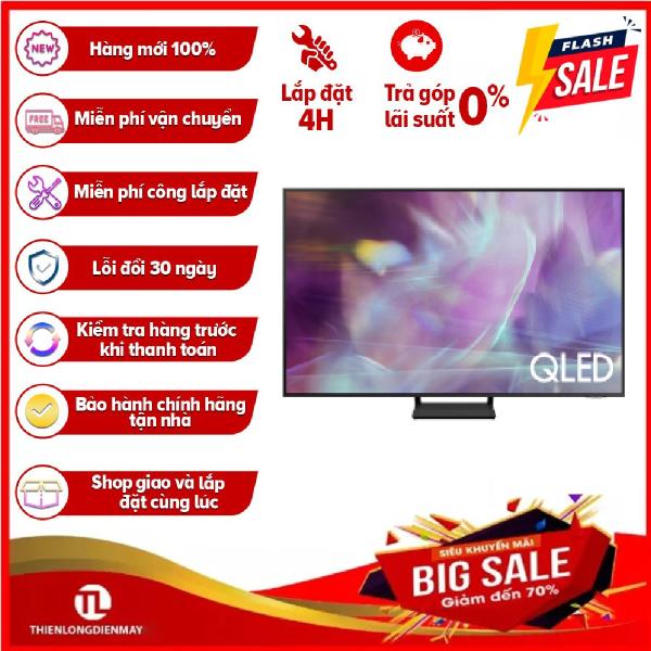Bảng giá [Trả góp 0%]Smart Tivi QLED 4K Samsung 43 Inch QA43Q60AA Mới 2021