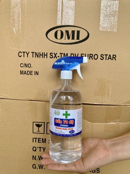 Cồn Rửa Tay Sát Khuẩn 70 Độ 1000ml dạng vòi xịt tay cầm tiện dụng - Cồn Rửa Tay Sát Khuẩn 70 Độ 1000ml (Giá sỉ tận gốc)