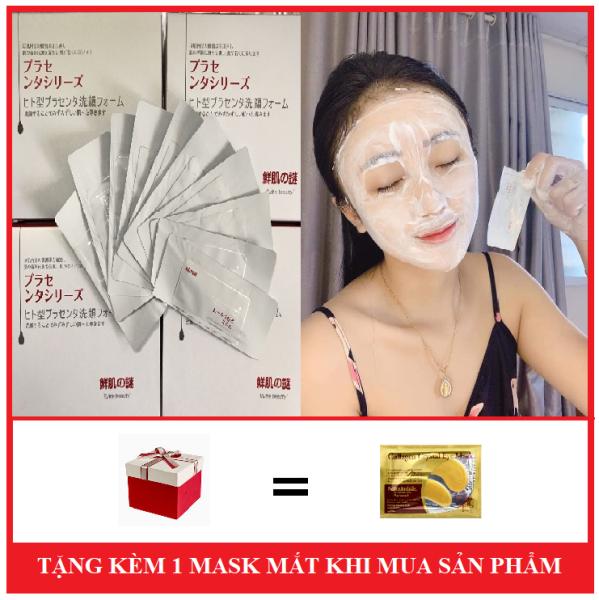 Mặt Nạ Ủ Trắng Da Nhau Thai Nhật ( Tặng Kèm Mặt Nạ Mắt )-Bấm Vào Phân Loại Để Chọn Số Lượng giá rẻ