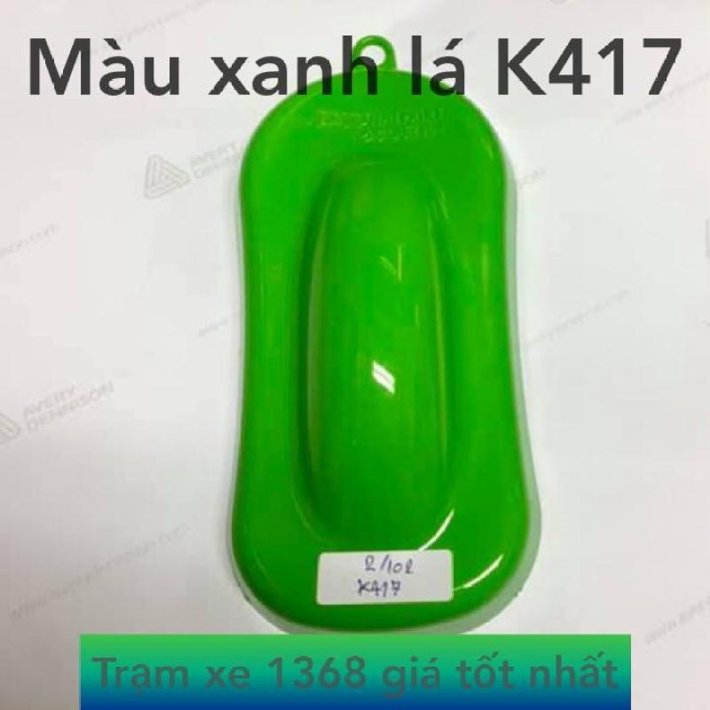 SƠN SAMURAI MÀU XANH LÁ K417 - XANH LÁ KAWASAKI