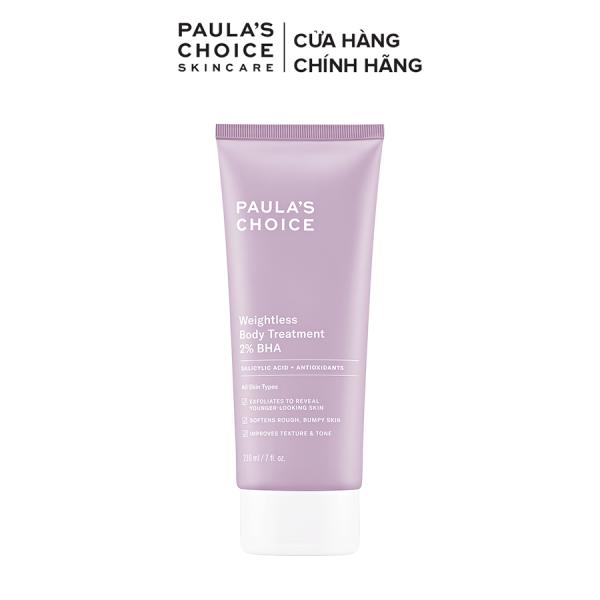 Kem dưỡng thể ngừa viêm lỗ chân lông Paula's Choice RESIST WEIGHTLESS BODY TREATMENT WITH 2% BHA-5700 giá rẻ