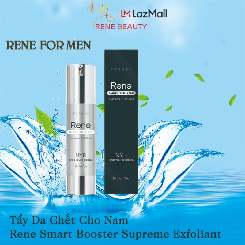 Tẩy da chết cho Nam [Từ men trái cây sinh học]- Rene Smart Booster Supreme Exfoliant  for Men[Tẩy da chết men trái cây sinh học]  USA giá rẻ