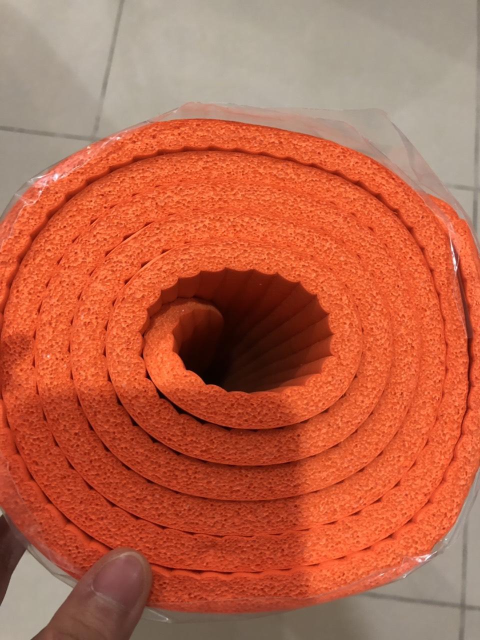 Thảm Yoga Vân Sọc Dày 10mm Kèm Quà Tặng Quai đeo Và Túi đựng Thảm Cùng Giá Khuyến Mãi Hot