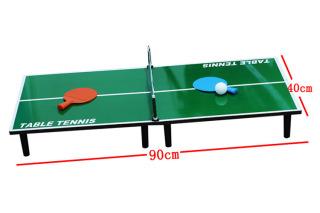 Bộ đồ chơi bóng bàn mini 90x40cm, đồ chơi trong nhà, giải trí mùa hè, món quà cho bé yêu , bảo hành 12T thumbnail