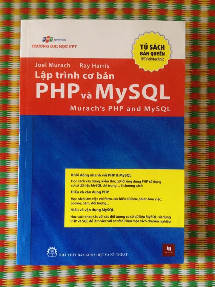 Mua LẬP TRÌNH CƠ BẢN PHP VÀ MYSQL