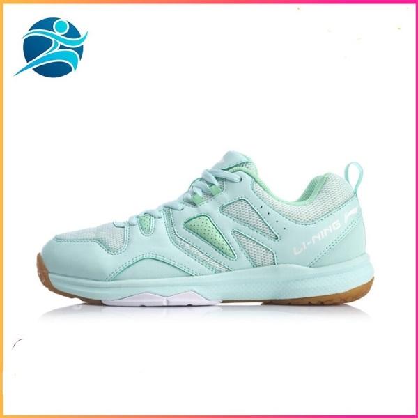 Bảng giá Giày cầu lông Lining AYTQ038-4 mẫu mới, cao cấp, dành cho nữ, màu xanh da trời - Giày cầu lông nữ -Giày bóng chuyền nữ - Bsport