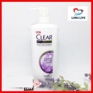 Dầu gội Clear chăm sóc toàn diện Complete Soft Care 480ml Thái Lan thumbnail