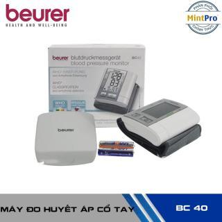 Máy đo huyết áp cổ tay Beurer BC40 thumbnail