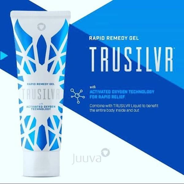 Trusilvr gel - (Bạc tinh khiết và nước tinh khiết)