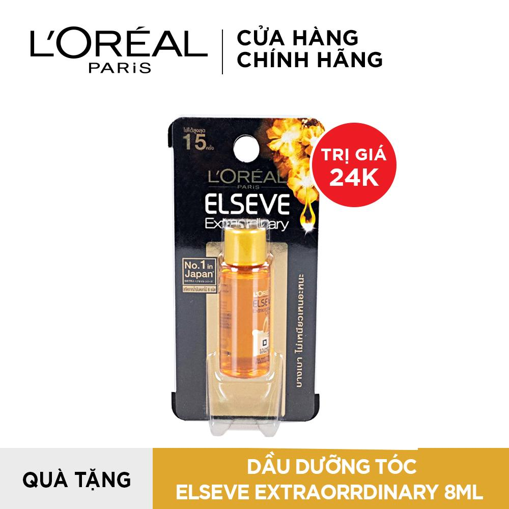 [QUÀ TẶNG KHÔNG BÁN] Dầu dưỡng tóc chiết xuất tinh dầu hoa tự nhiên LOreal Paris Extraordinary Oil 8ml