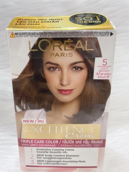 Nhuộm tóc Loreal Excellence Creme Số 5 - Nâu Hạt Dẻ