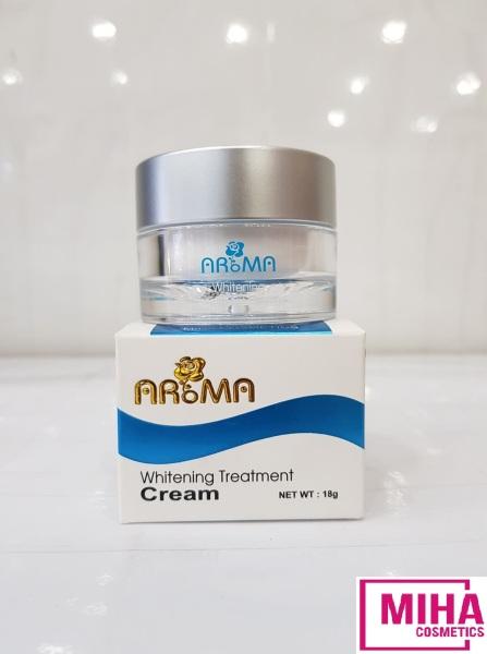 [HCM]Kem Trắng Da Aroma Mira Whitening Treatment Cream 18g Hàn Quốc
