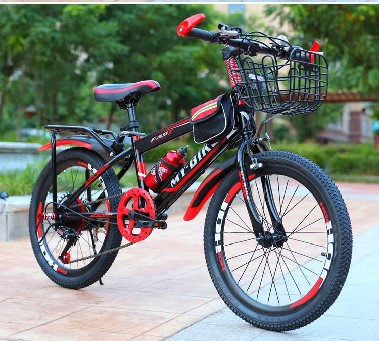 Mua Xe đạp địa hình cỡ 24 inh cho bé (9-15 tuổi) - tặng kèm giỏ và gácbaga