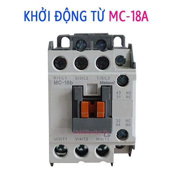 Khởi Động Từ 18A MC 220V giá rẻ