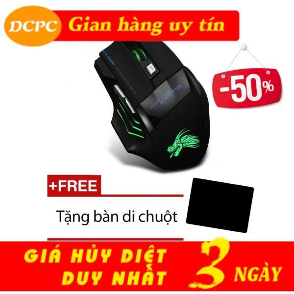 Bảng giá Xem Video - Chuột chơi game có dây Dragon X3 led đổi màu (Đen) dây bọc dù Phong Vũ