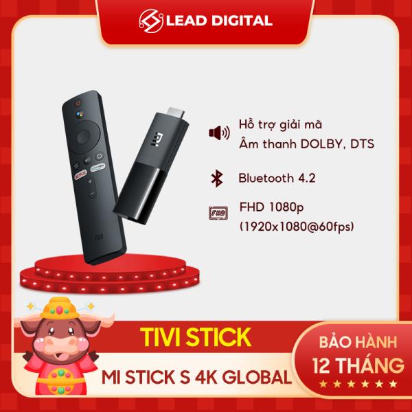 Bảng giá [CHÍNH HÃNG] Đầu Thu TV Xiaomi Mi TV Stick 4K ĐEN - Hỗ trợ Tiếng Việt, Độ phân giải 4K (3840 x 2160), CPU 4 nhân,Ram 1GB, Rom 8GB, Kết nối Wifi, Bluetooth 4.2, HDMI - Bảo hành chính hãng 12 tháng